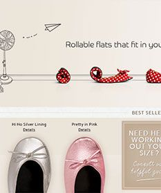 Experts say that women have just 66 minutes in heels before pain kicks in, so imagine their delight when Rollasole...