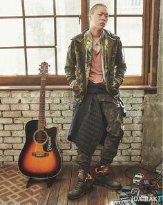 Oh Hyuk - Vogue Korea, November '15