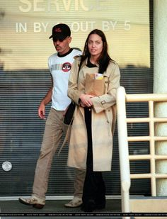 Angelina and Billy Bob in 2001