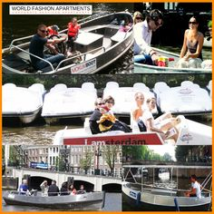 Amsterdam - A city of canals Amsterdam's picturesque canals are one of the city's most popular attractions. One of the best ways to see the city is from the water. While the stay at World Fashion Apartments, you must take a canal cruise or rent a boat and explore the waterways at own leisure with your family.