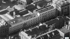 """Dublin Civic Trust on Twitter: """"A rare view of Pim's department store on South Great George's Street from the 1950s. It would be interesting to determine if the lower portion of the building once featured a 19th-century false storey facing the street, as depicted on its trade cards from the period."""" / Twitter Department Store, Dublin, 19th Century, Ireland, Period, 1950s, Trust, Twitter, Building"""