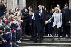 Emmanuel Macron's unlikely romance with wife 24 years his senior ...