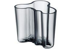 Iittala Aalto Vase, Smoke Gray
