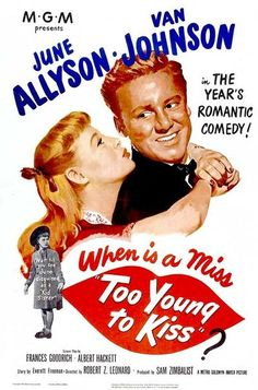 Too Young to Kiss (1951)