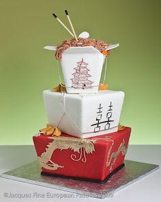 Wedding Cakes From China #unusual shape cake #asian wedding cake