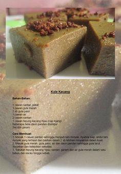 Kole Kacang http://resepibonda.com/resepi-kuih-kole-kacang/