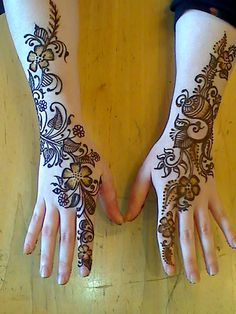 Simple and Beautiful Mehndi Designs For Hands ~ Mehndi Designs For Hands