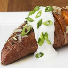 Hasselback Sweet Potatoes 4 Ways