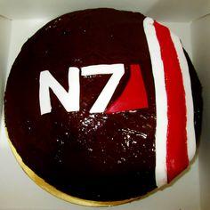 Mass Effect Birthday Cake