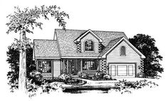 These Log Style Home Plans are very adaptable.