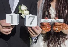 De datum! #accessoiresweddingpictures Accessories