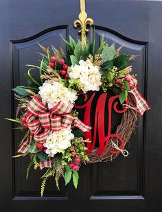 NEW Christmas Wreaths for Front Door Front Door Wreaths