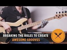 """Breaking the Rules to Create Awesome Grooves - """"Groove Analysis"""" (L#109) - Online Bass Lessons"""