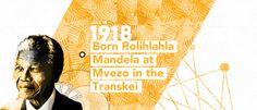 Mandela interactive timeline