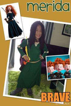 DIY Merida Brave costume