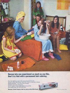 Noreen Hair Colour 1970s