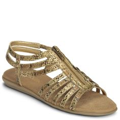 Chlothesline Faux Snake Gladiator Sandal | Women's Sandals | Aerosoles
