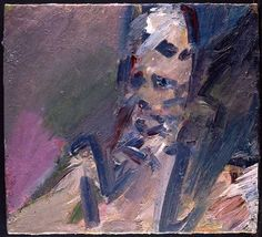 Frank Auerbach - Portrait of Catherine Lampert, 2009-10  oil on canvas  51.1 x 56.2 in.