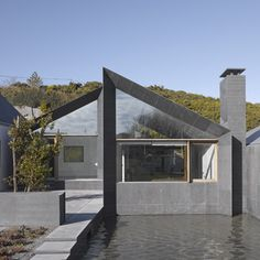 Obsessed with this house right now.  House at Goleen by Niall McLaughlin Architects