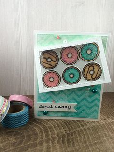 Donut worry-lawn fawn.   Flickr - Photo Sharing!