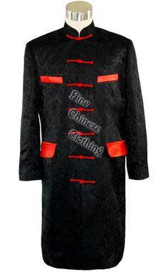 Big picture of Fashionable Chinese Wedding Long Jacket, Click to Enlarge