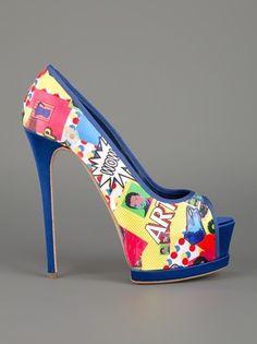 Pop Art Shoes | LOVE!!!