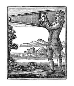 """Sir Robert Hooke suggests a """"wearable"""" camera obscura he calls a """"Picture Box"""" (1694)."""