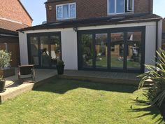 This customer asked our team to install two sets of Origin Bi Fold doors at the rear of their property. For this project, our team had to remove a set of french doors for the 3 pane bi fold, and knock through the wall for the 4 pane bi fold. #BiFoldDoors #BiFolds #Bifolds #OriginBiFoldDoors #OriginBiFolds #OriginBifolds #Basfords #BasfordsEffect #BasfordsDifference