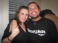 Jeff Hardy (Pictured With His Wife Beth)
