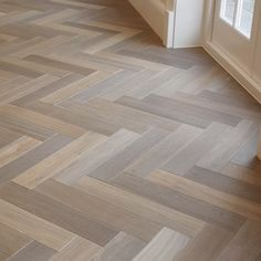 Timber Flooring, Parquet Flooring, Herringbone Tile Floors, Wood Floor Design, Basement Flooring Options, Kitchen Room Design, Living Room Flooring, Dream Home Design, Home Decor Furniture