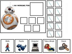 Sometimes It Can Be Difficult Getting A Child Who As Autism Through Task Why Not Make Fun With One Of Their Favorite CharactersThese Token Board