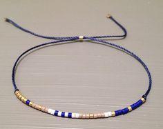 Bracelet de superposition délicat soie de bracelet perle amitié