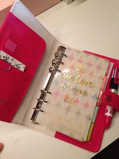 My new websters pages planner