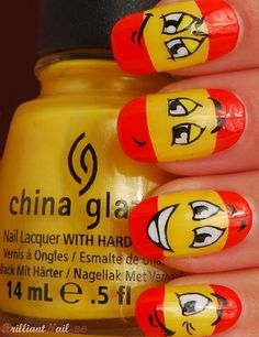 summer nail art - wanna try this