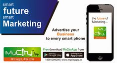 Your Smart ‪#‎Marketing‬ Leads your ‪#‎Business‬ Future.Become a ‪#‎Brand‬,Become a MyCityApp ‪#‎Vendor‬