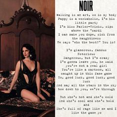 """May all the stars in the sky bow down to you"" #lanadelrey #Noir"
