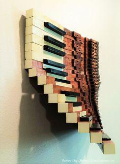 Barbara Gay Jimenez|Piano Sculptures