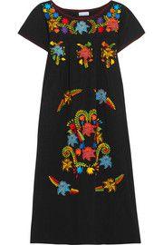 Sensi StudioEmbroidered cotton dress