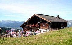 Hütte an der Roßfeld-Panormastraße
