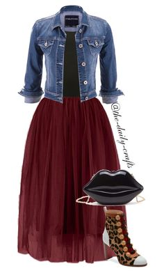 """Untitled #246"" by the-daily-crafts ❤ liked on Polyvore featuring maurices, M&Co and Christian Louboutin"