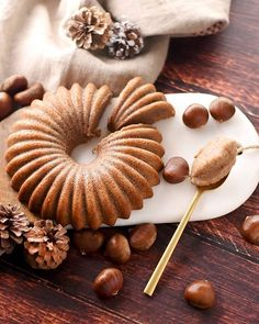 Gâteau moelleux à la crème de marron Gateau Chataigne, Gateau Brioché,  Gateau Biscuit, 5a7698609cf