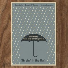 Hey, I found this really awesome Etsy listing at https://www.etsy.com/listing/70126899/singin-in-the-rain-limited-edition-print