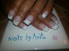 LCN gel nails French Acrylic Nails, Acrylic Nail Designs, French Nails, Lcn Nails, Matte Nails, Mani Pedi, Manicure, Dragon Claw, Professional Nail Art