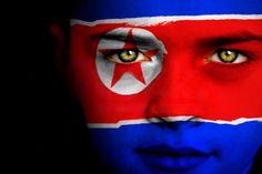 North Korea Flag Boy Capital: Pyongyang