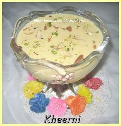 Food Mazaa: KHEERNI (Sindhi Kheer) Tapioca pearls cooked in milk. This is a Sindhi dessert made on festive days. Indian Desserts, Indian Sweets, Indian Food Recipes, My Favorite Food, Favorite Recipes, Food And Drink, Cooking Recipes, Yummy Food, Snacks