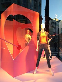 """""""Windows"""" by Jake at Macy's NYC, """"Follow You Heart"""", pinned by Ton van der Veer"""