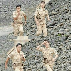 xD Still his expression is so cute and adorable. I think I'm going crazy. Want Joong ki Oppa. So hard to control the feels. Korean Celebrities, Korean Actors, Korean Dramas, Desendents Of The Sun, Soon Joong Ki, Sun Song, Songsong Couple, Korean Drama Best, Drama Fever