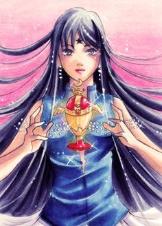 ACEO Mistress 9 - Holy Grail by nao--ren.deviantart.com on @deviantART