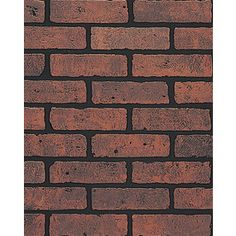 x Embossed Red Brick Hardboard Wall Panel at Lowe's. DPI's Gaslight II brick panel gives the homey look of real brick masonry, at a fraction of the cost. The bricks are prefinished red, with Faux Brick Wall Panels, Brick Wall Paneling, Red Brick Walls, White Paneling, Black Brick Wall, Ideas Paneles, Bar Ideas, Room Ideas, Home Depot