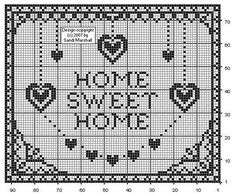 Barbie non sposa Ken: Punto croce, mon amour! Cross Stitch Heart, Cross Stitch Samplers, Cross Stitching, Cross Stitch Embroidery, Cross Stitch Designs, Cross Stitch Patterns, Cross Stitch Silhouette, Crochet Home Decor, Sewing Stitches